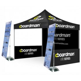 Custom Printed Tent with Y Bands