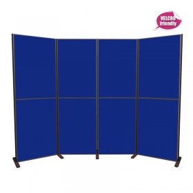 8-panel Pole & Panel display