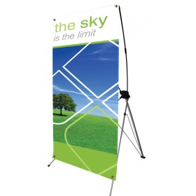 Spring Jumbo Banner Stand 1200mm wide