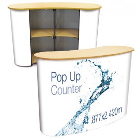 XL Pop Up Display Counter