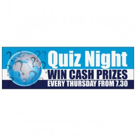 Quiz Night - Banner 159