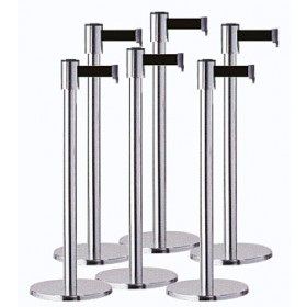 Retractable Barriers Special Offer - 6 Pack