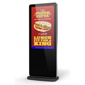 Slimline Freestanding Digital Display