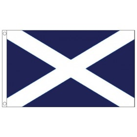 St Andrew's Scottish Flag - 5ft x 3ft - Promotional