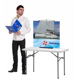 Twist Desktop Banner Stand