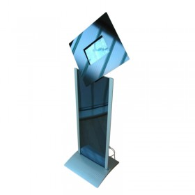 Tablet Display Stand w/ Graphic Panel