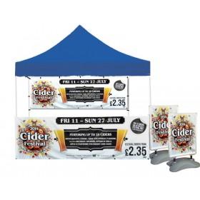 Custom Printed Tent Bundle
