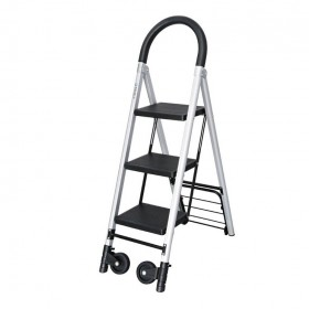 Combination Folding Hand Truck & Steps