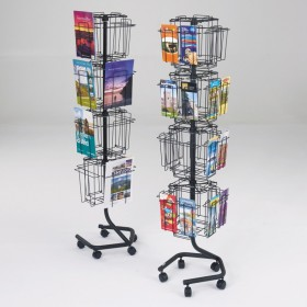 Wire Literature Rack