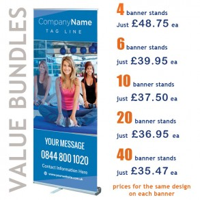 Banner Stand Value Bundle
