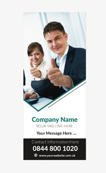 Business Banner 2 - Banner Stand 122