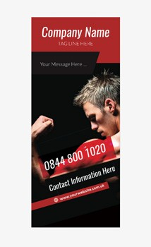 Fitness Banner 10 - Banner Stand 109