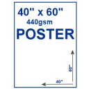 "Outdoor PVC Poster - 40"" x 60"""