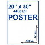 "Outdoor PVC Poster - 20"" x 30"""
