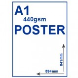 Outdoor PVC Poster - A1