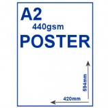 Outdoor PVC Poster - A2