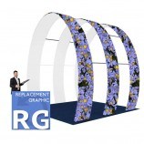 Fabric Stands Replacement Graphics - Arch