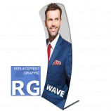 Fabric Stands Replacement Graphics - Wave