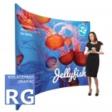 Fabric Stands Replacement Graphics - Curved