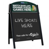 Premier Steel Pub Chalk A-Board