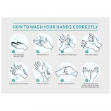 How To Wash Your Hands - Pack of 10 - Poster | Sticker | Sign