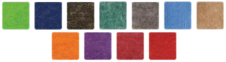 11 colours to choose from