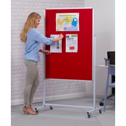 Pinnable Mobile Notice Board