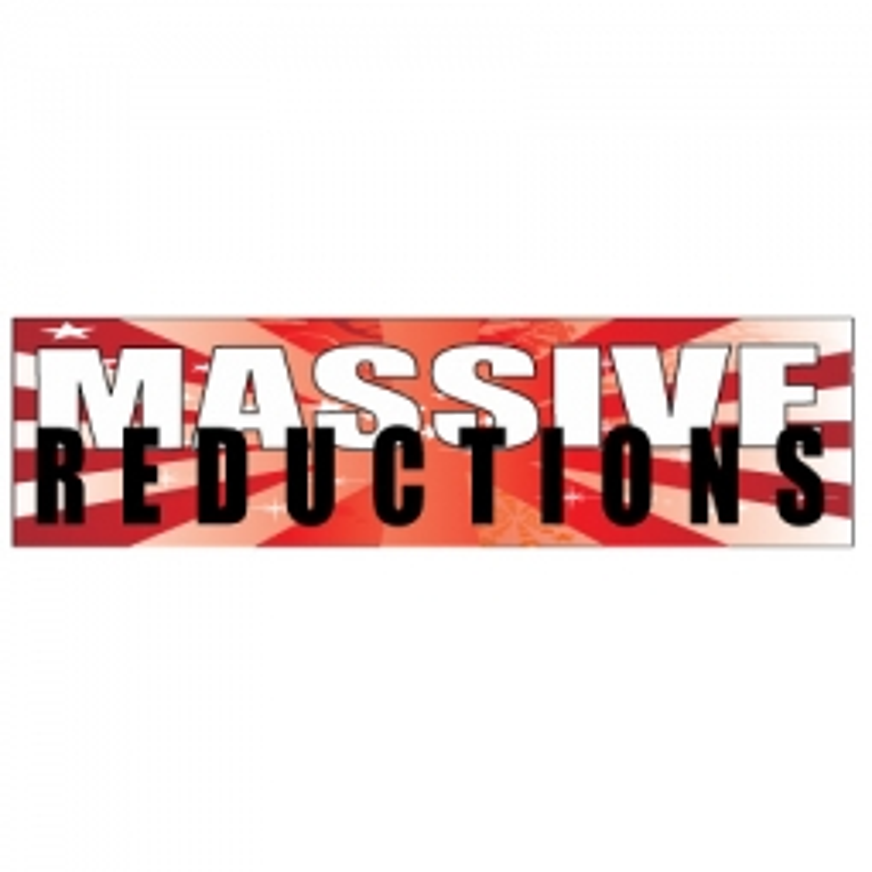Massive Reductions - Banner 201