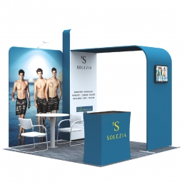 3m x 3m Fabric Exhibition Stands