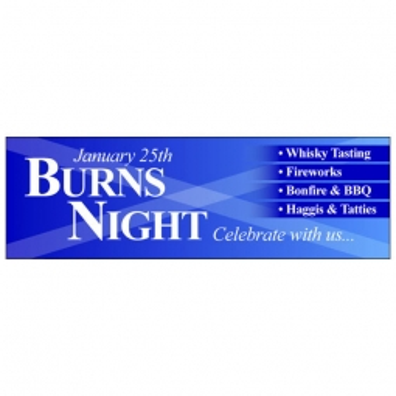 Burns Night - Banner 111