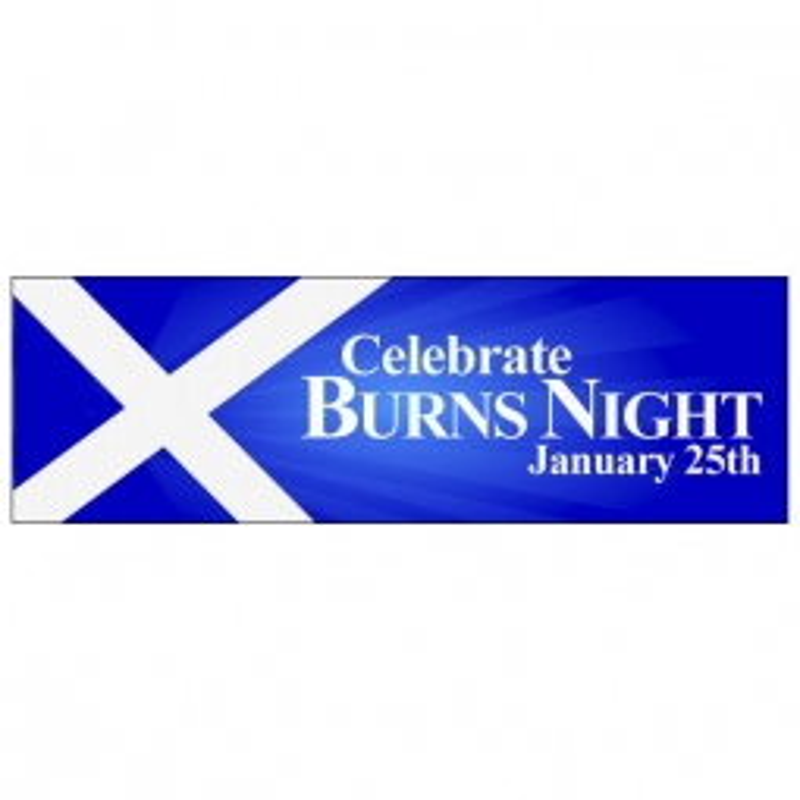 Burns Night - Banner 115