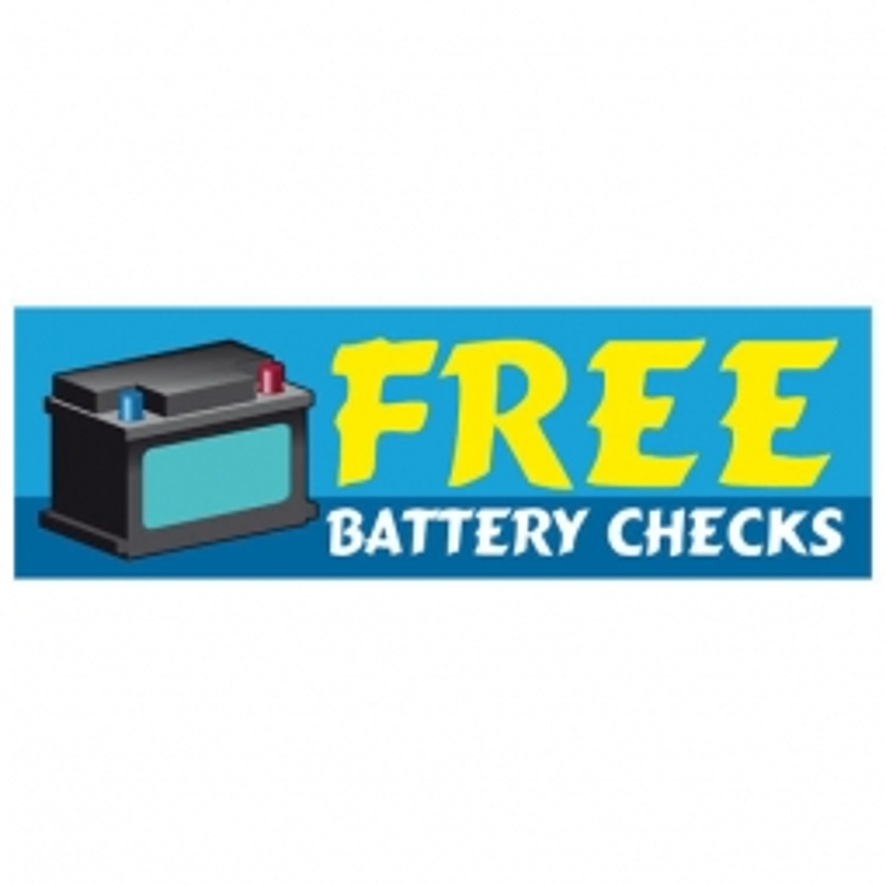 Free Battery Checks - Banner 119