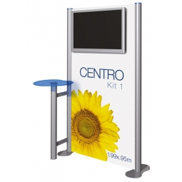 "Exhibition Display Screen Holder - Screens from 32"" x 42"""
