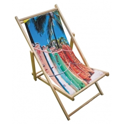 Frame and colourful fabric cover
