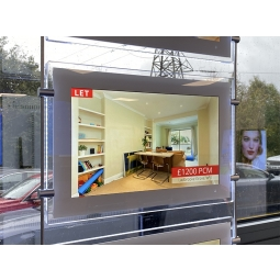 "Estate Agents Window 15"" Digital Display Screens"