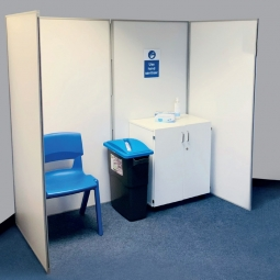 Economy Folding COVID-19 Vaccination Booth