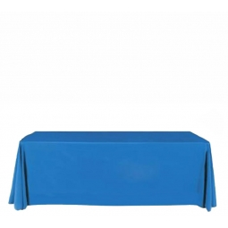 Plain colour event and exhibition table cover