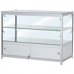 An Easy to assemble Glass showcase