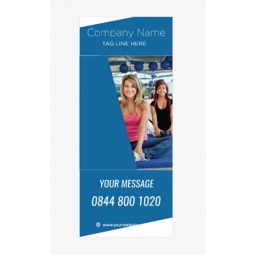 Fitness Banner 13 - Banner Stand 112