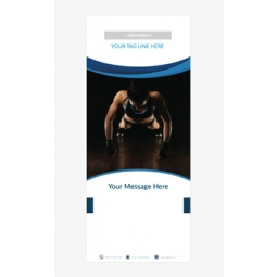 Fitness Banner 3 - Banner Stand 102