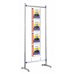 free standing A4 poster holder