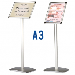 A3 iPost 200 Poster Holder Sign