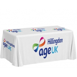 Branded Table Cloth - Full Custom Print