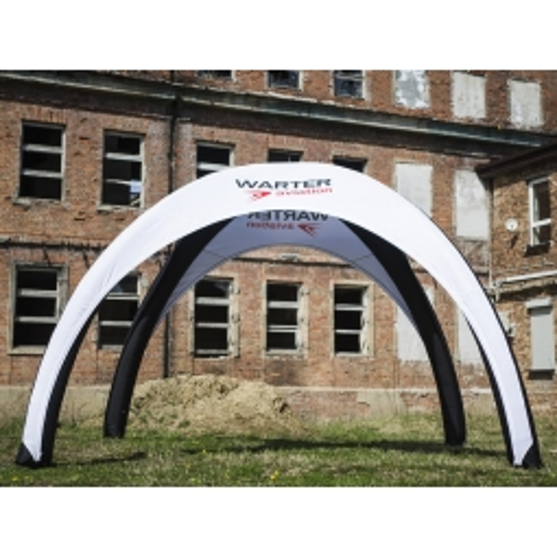 Custom printed inflatable canopy