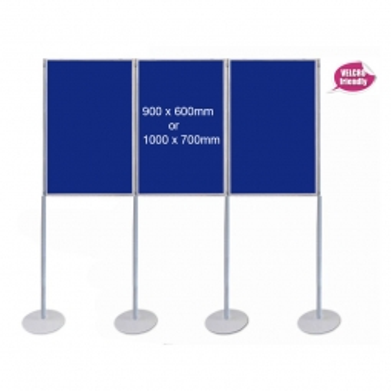 Portrait Pole Display Stand