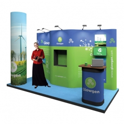 4m x 3m Pop Up Exhibition Stand Kit