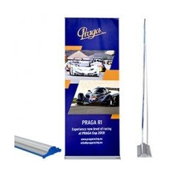 Double Sided Cassette Roll Up Banner Stand