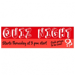 Banner - Quiz Night - 382