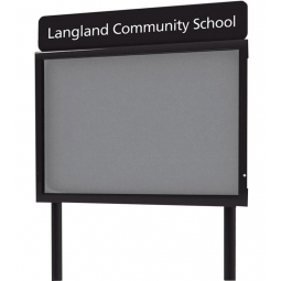Freestanding Personalised Outdoor School Sign