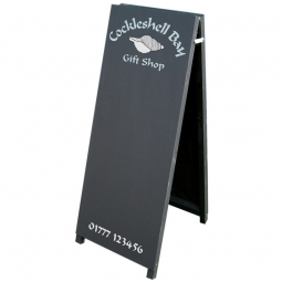 Tall A-Frame Chalk Pavement Sign